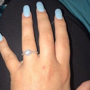 Silver Pandora Promise ring/ Ring
